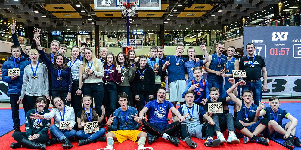 26 лютого в Луцьку відбувся Відкритий турнір з баскетболу 3х3 Західного дивізіону серед шкільних команд