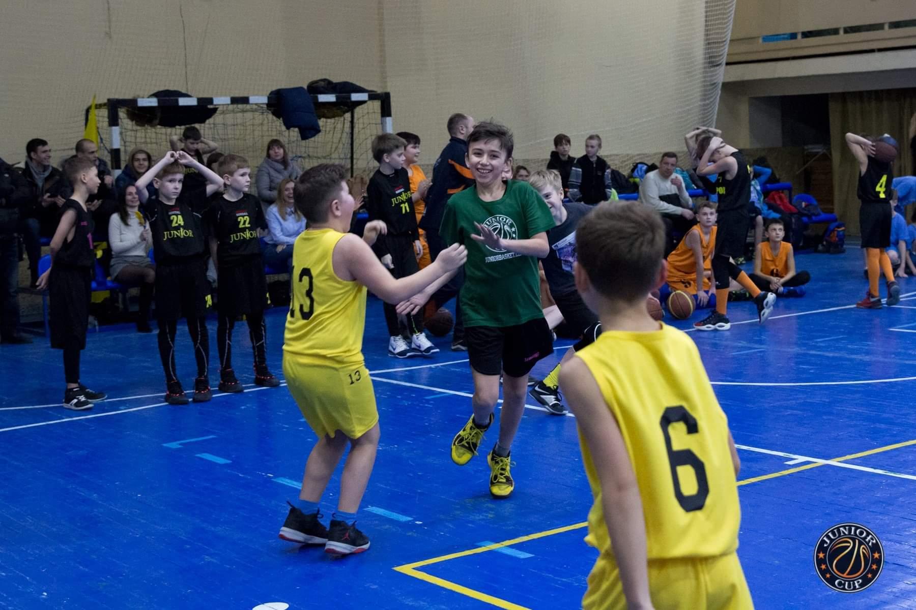 Міні-баскетбол: у Харкові відбувся Джуніор Кап