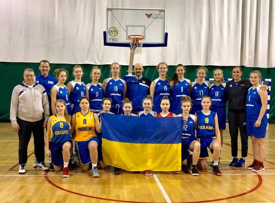 Жіноча збірна України U-15 стартувала на етапі EYBL
