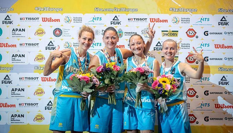 Жіноча збірна України 3х3 серед номінантів на Спортивний Оскар