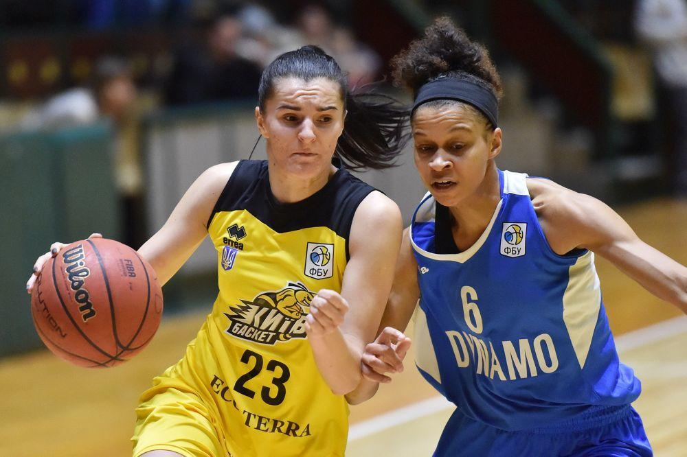 Жіноча Суперліга: Динамо перемогло Київ-Баскет у столичному дербі