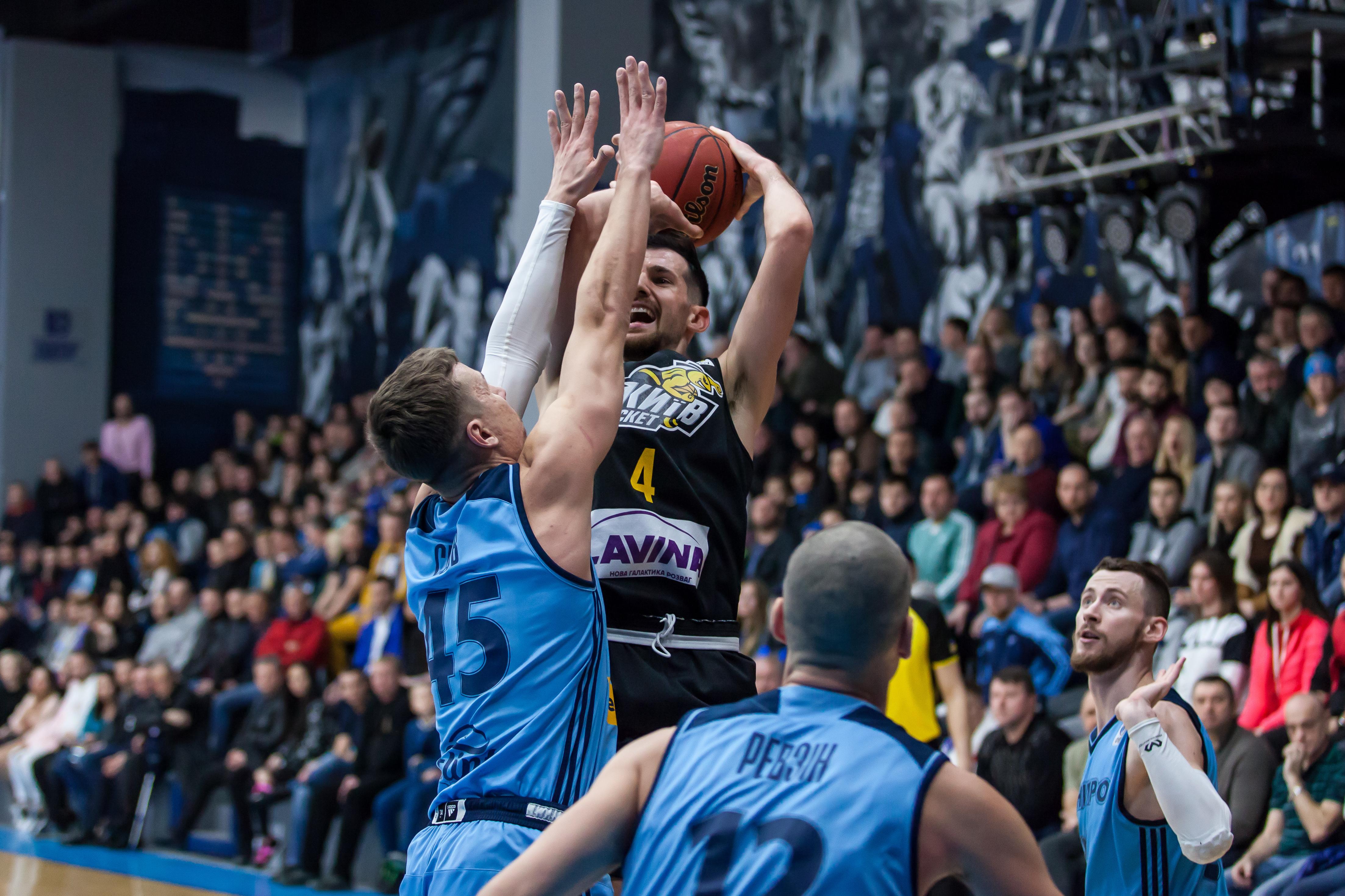 Розв'язка матчу між Дніпром та Київ-Баскетом: відео