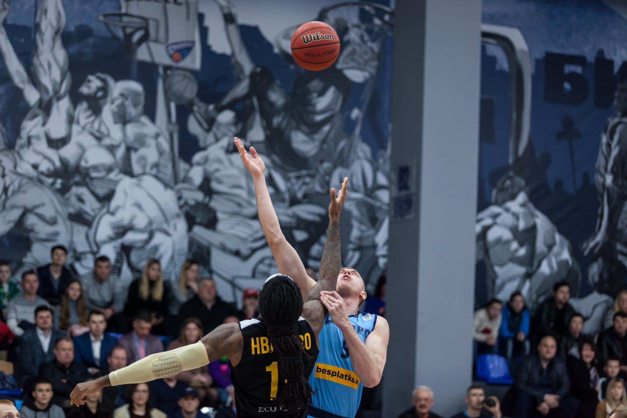 Дніпро - Київ-Баскет: фотогалерея другого півфіналу Кубку України
