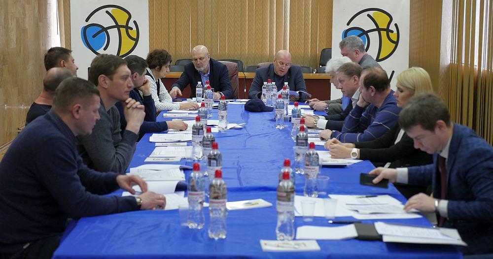 У Києві відбулося засідання Виконкому ФБУ: фотогалерея