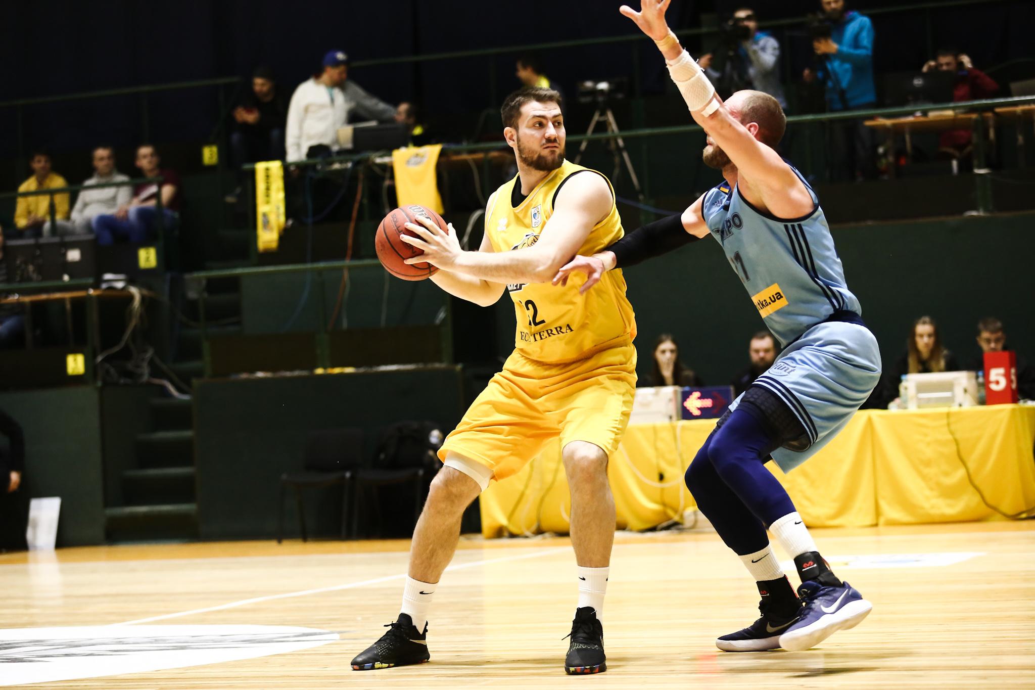 Київ-Баскет переміг Дніпро та зрівняв рахунок у сезонній серії