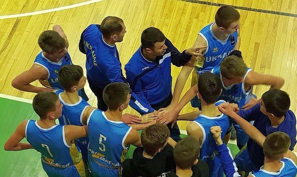 Збірна України U-14 стартувала на етапі ЄЮБЛ