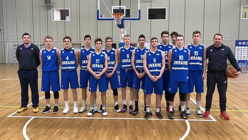 Збірна України U-16 переможно завершила етап ЄЮБЛ