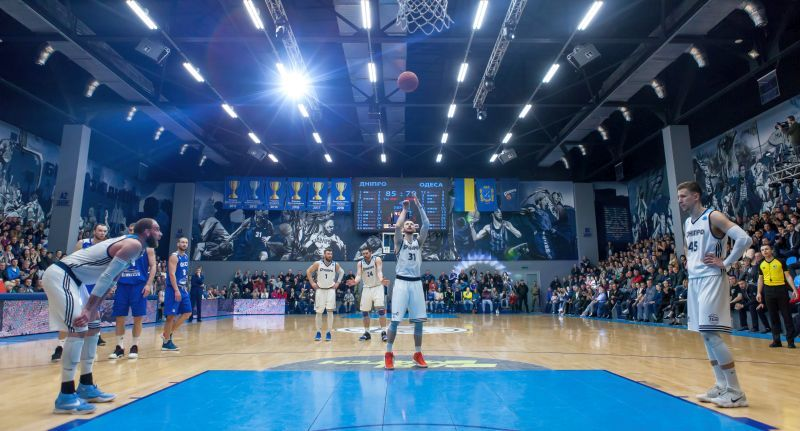 Як Дніпро переміг Одесу в чвертьфіналі Суперліги Парі-Матч: фотогалерея