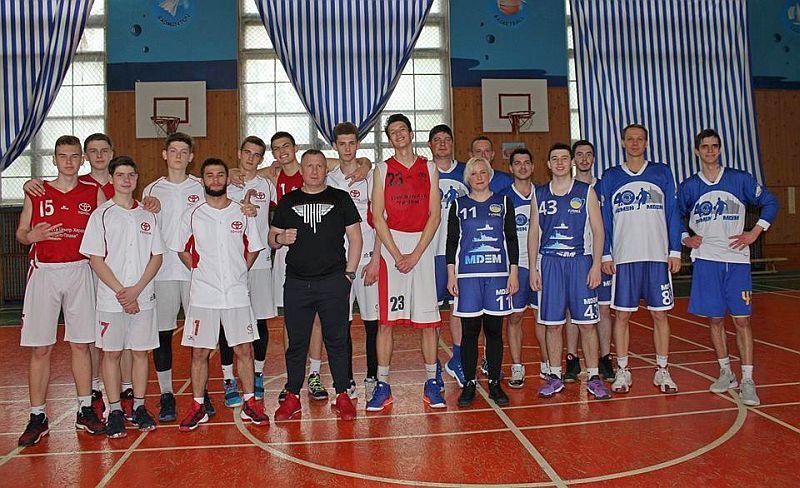 Завершуються змагання в Миколаївській баскетбольній лізі