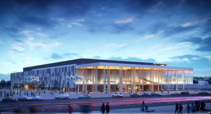 Будівництво Палацу спорту в Харкові під загрозою