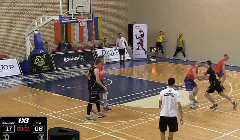 Українська команда Kyiv-Monbat зіграє в плей-оф турніру 3x3 Parimatch League