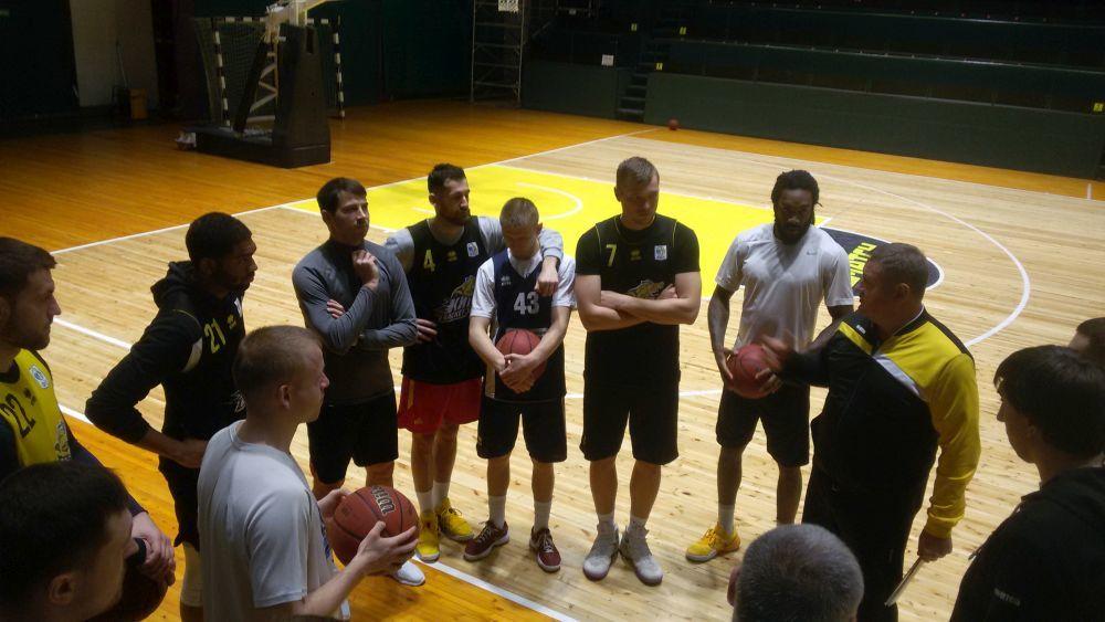 Київ-Баскет готується до третього матчу фінальної серії з Хіміком