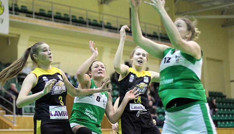 Жіноча Суперліга: онлайн відеотрансляція 1/2 фіналу