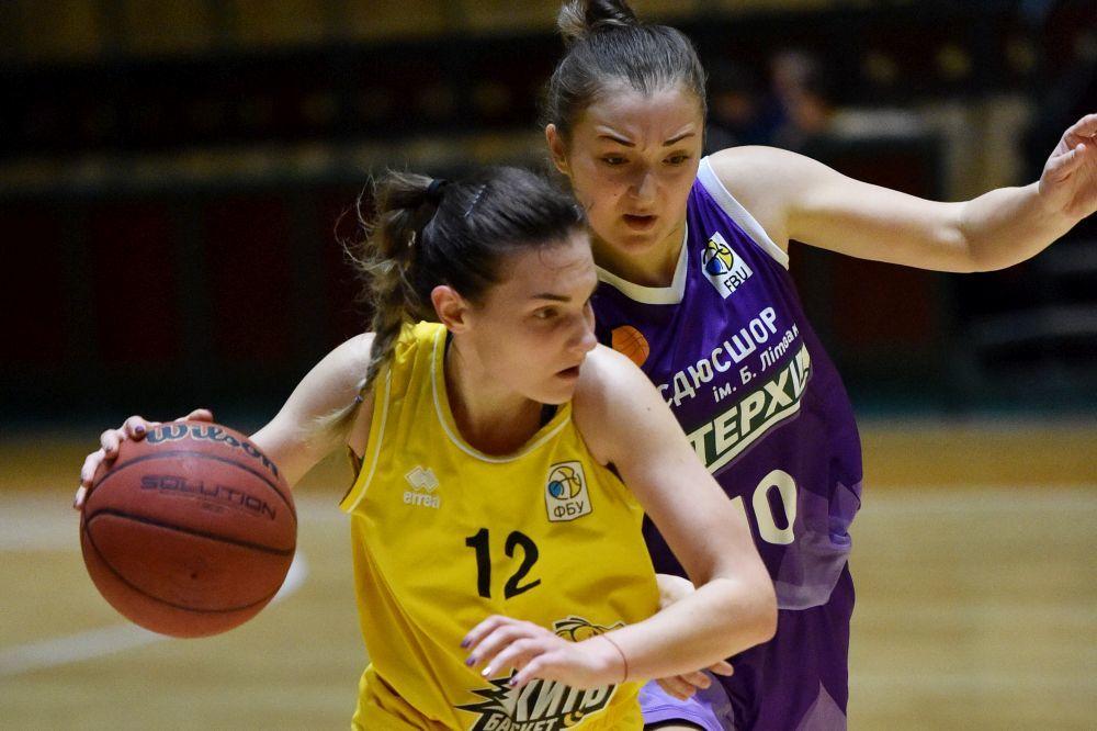 Вища ліга (жінки): КСЛІ-Київ-Баскет переможно розпочав фінальну серію з ІнтерХімом-2