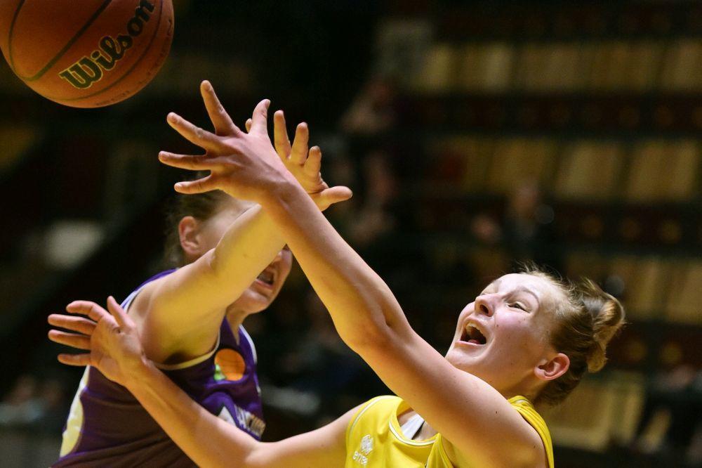 Вища ліга (жінки): КСЛІ-Київ-Баскет вдруге переміг ІнтерХім-2