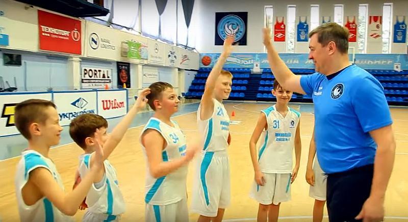 МБК Миколаїв долучився до челленджу Фестивалю міні-баскетболу