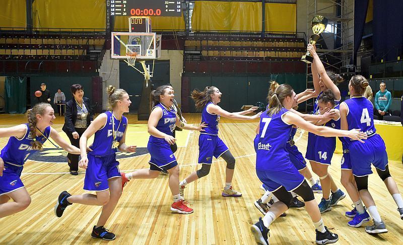 Баскетболістки Дніпра в драматичному фіналі вибороли титул у ВЮБЛ (дівчата-2002)