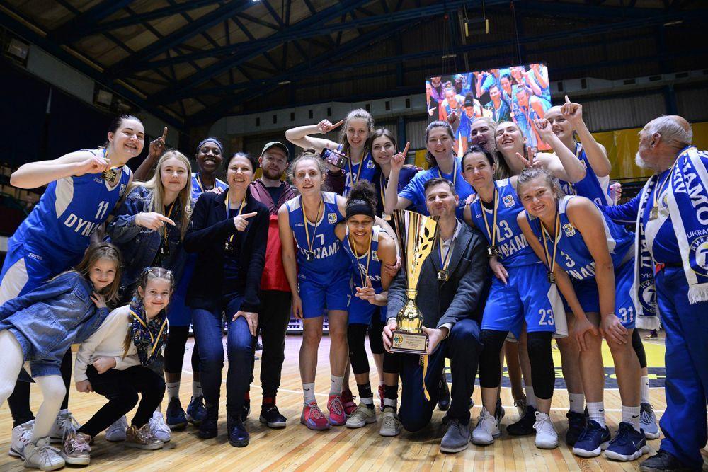 Жіноча Суперліга: Динамо - чемпіон!
