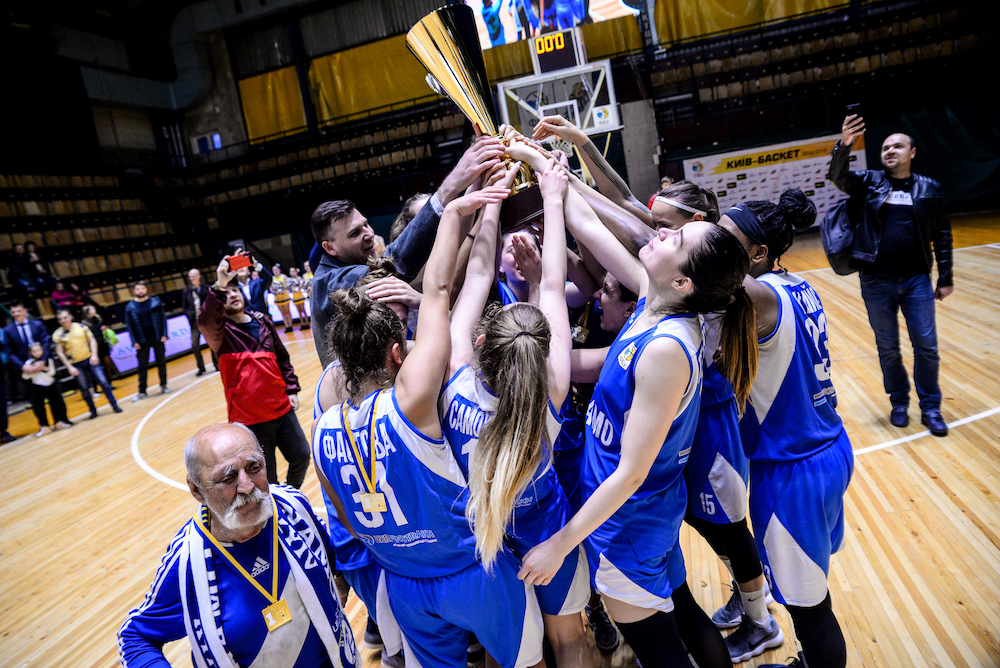 Динамо - чемпіон жіночої Суперліги: фотогалерея вирішальної гри та нагородження