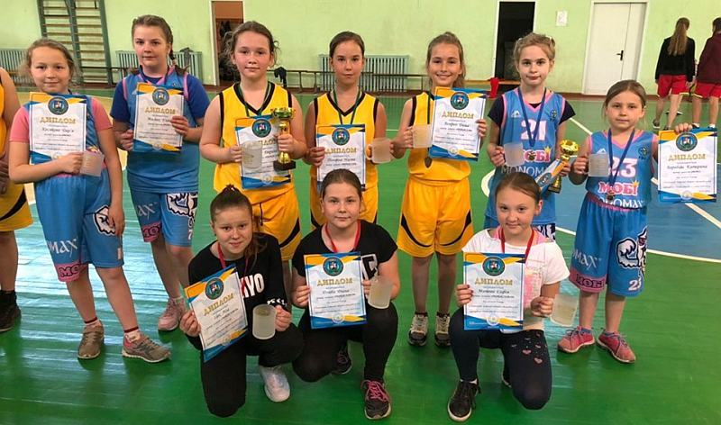Юнацькі команди Київщини зіграли в першому обласному чемпіонаті з баскетболу 3х3