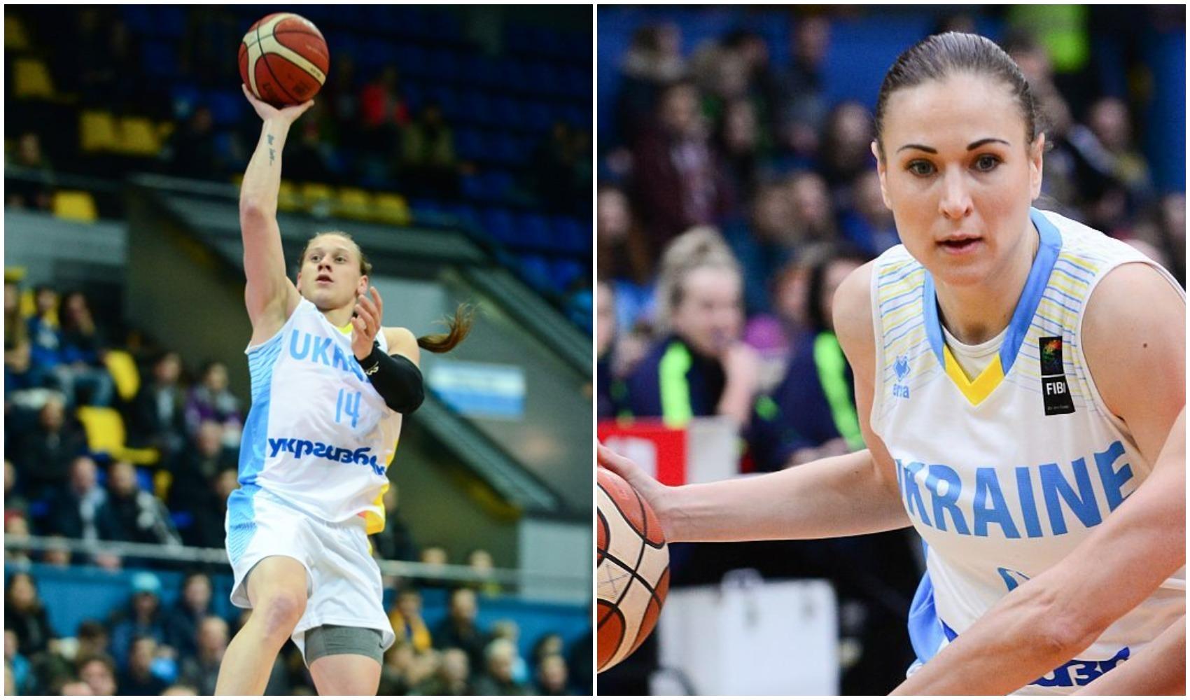Аліна Ягупова та Олександра Радулович увійшли у розширений список збірної України