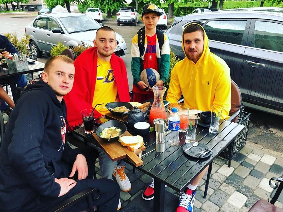Святослав Михайлюк завітав до України