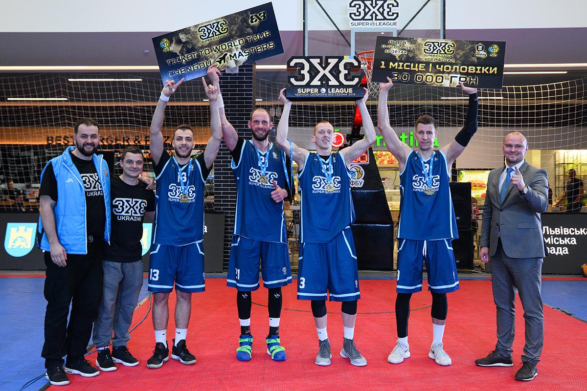 У Львові відбувся фінальний тур Суперліги 3х3!