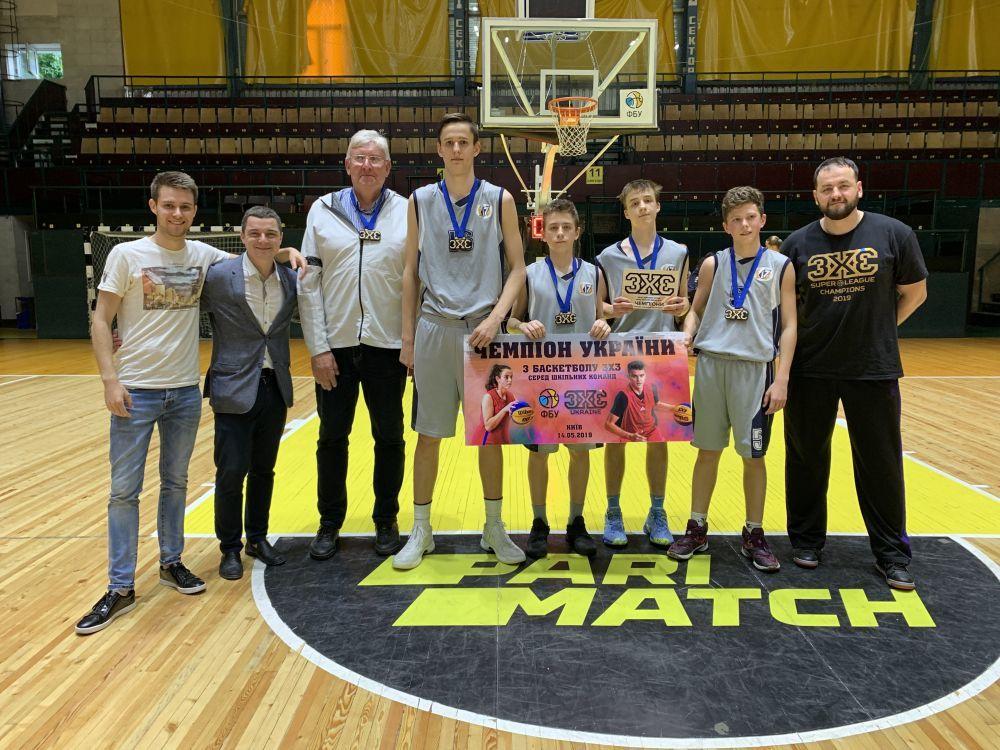 Шкільна Баскетбольна Ліга 3х3: переможців визначено