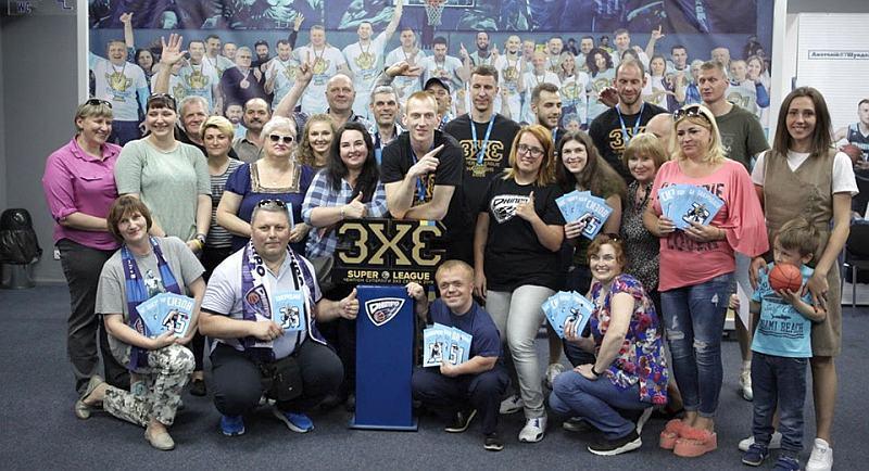 Чемпіони Суперліги 3х3 зустрілися з вболівальниками: фото та відео