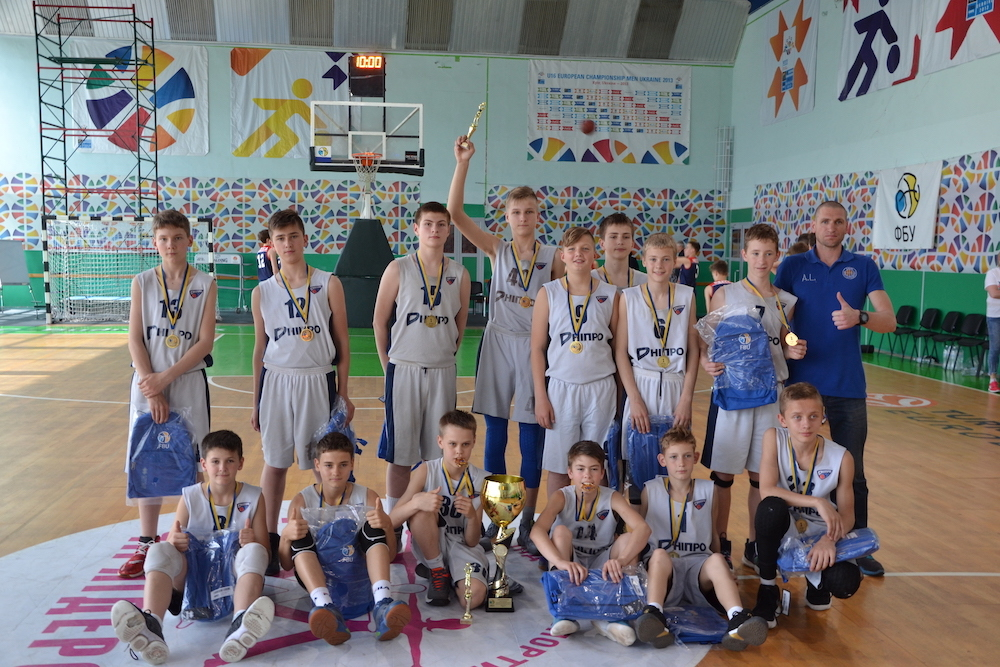СДЮСШОР-5 з Дніпра – Чемпіони ВЮБЛ серед юнаків 2006 р.н.