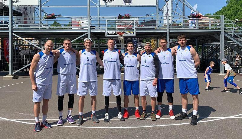 Збірна України 3х3 двома складами зіграла в Ризі