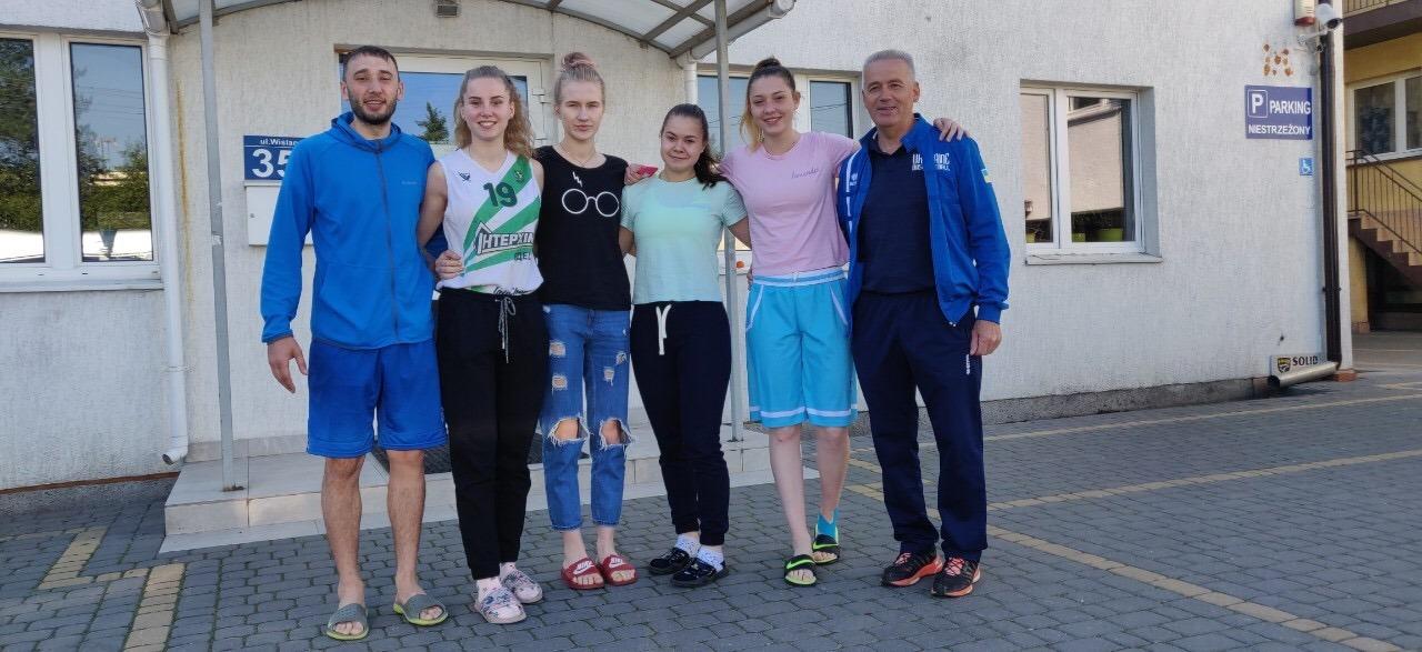 Жіноча збірна України U-18 виступає на турнірі Польщі