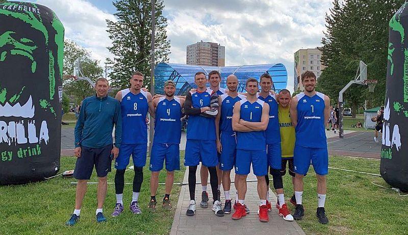 Збірна України 3х3 фінішувала третьою в Мінську