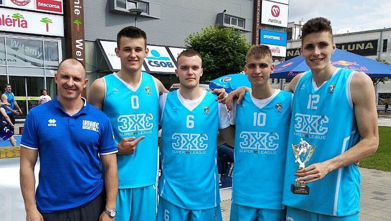 Збірна України U-18 виграла міжнародний турнір з баскетболу 3х3