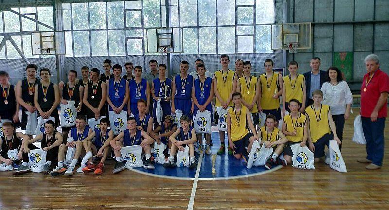 Визначилися переможці дивізіону Б ВЮБЛ серед юнаків 2003 та 2004 р.н.