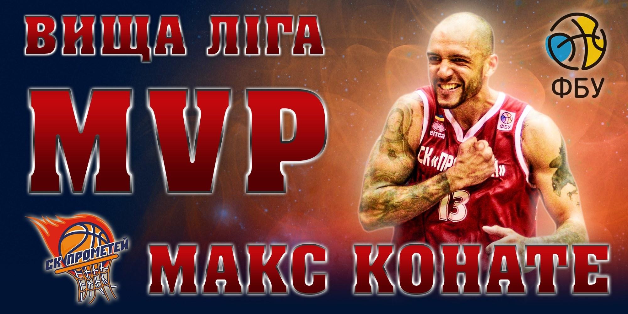 Названо MVP у Вищій лізі