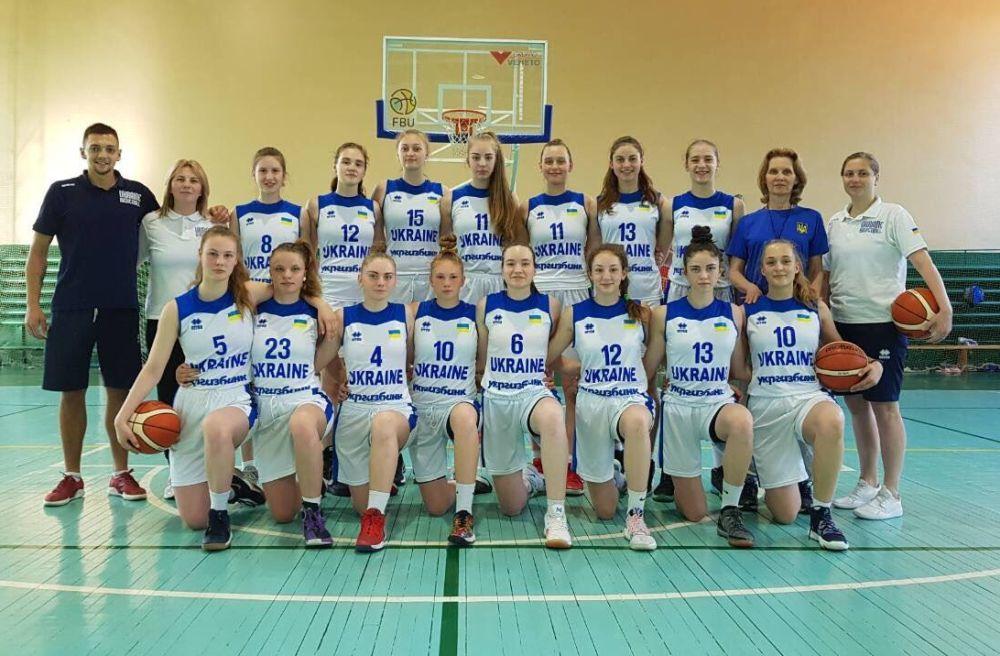 Жіноча збірна України U-16 зіграла спаринг у Мінську