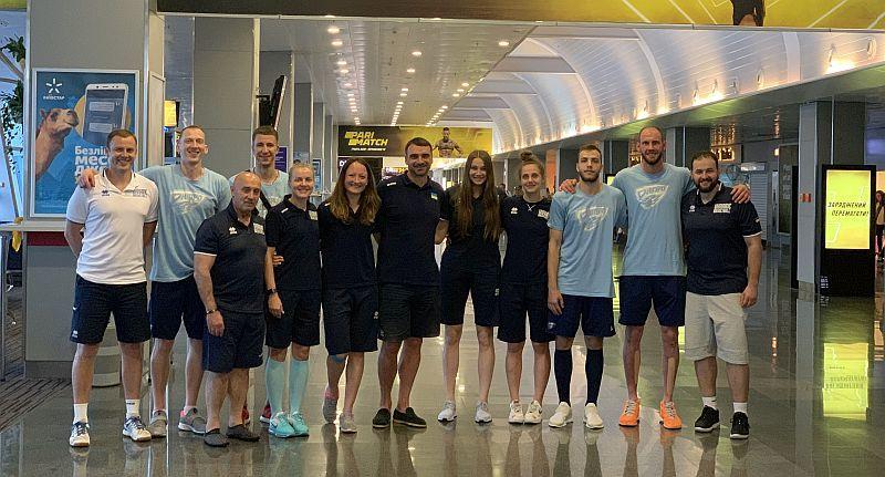 Збірна України та Дніпро вилетіли на турніри в Китай