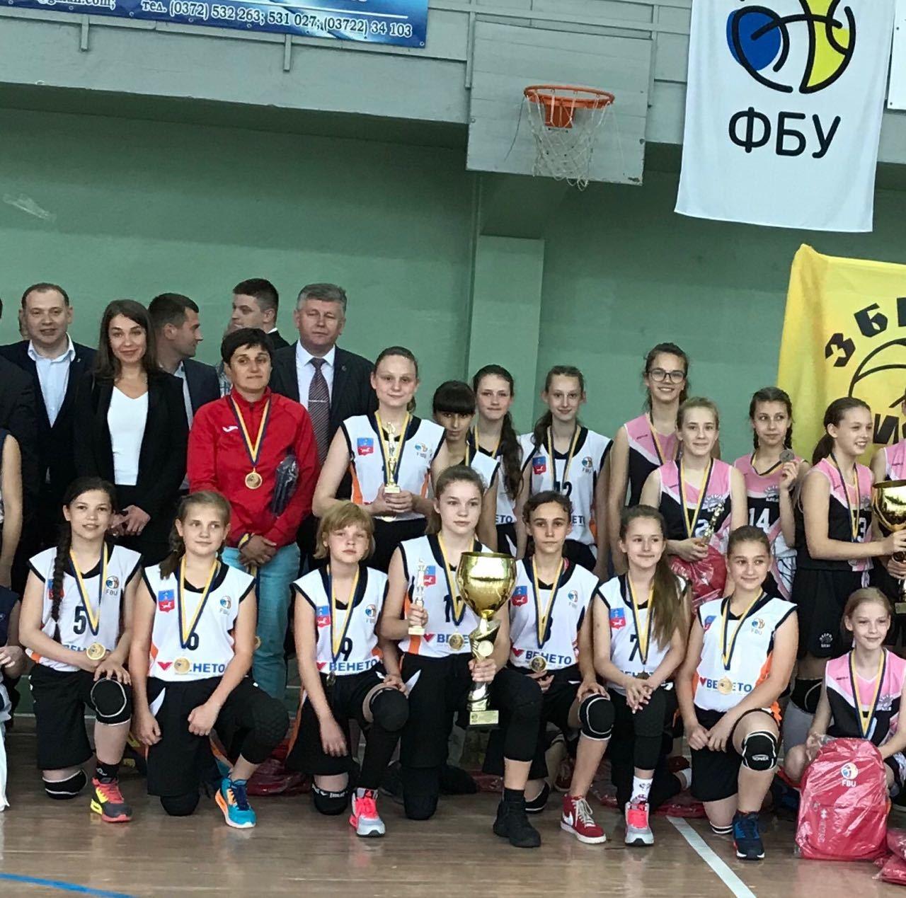 ВЮБЛ (дівчата-2007): ВЕНЕТО-Черкаси - чемпіон