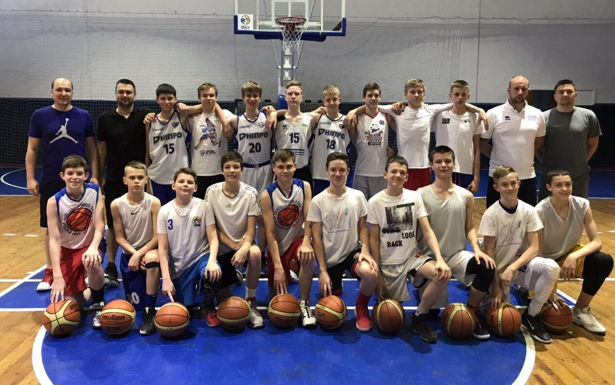 Чоловіча збірна України U-14 завершила збори у Запоріжжі
