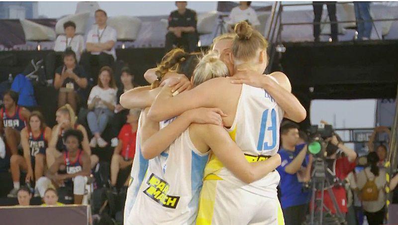 Збірна України здобула першу перемогу в Жіночій серії 3х3