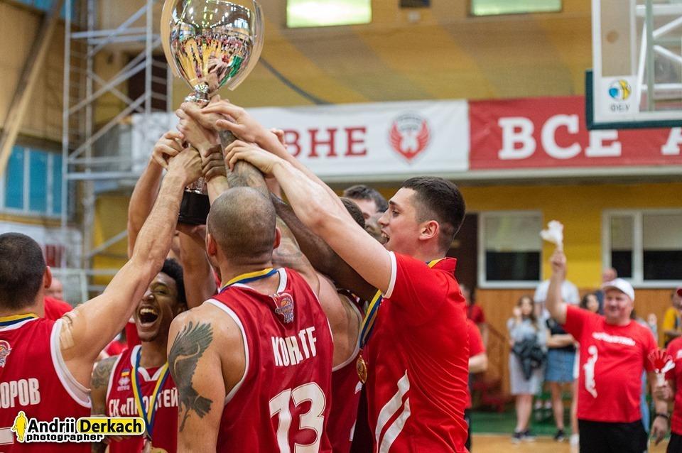 Як Прометей святкував чемпіонство у Вищій лізі: відеоогляд
