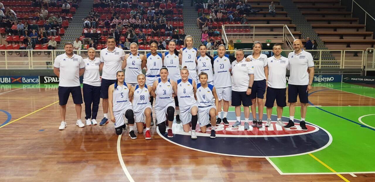 Жіноча національна збірна України продовжить підготовку до чемпіонату Європи в Києві