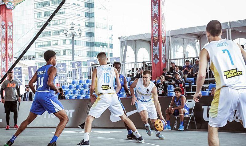 Баскетбол 3х3: онлайн відеотрансляція чемпіонату світу U-18