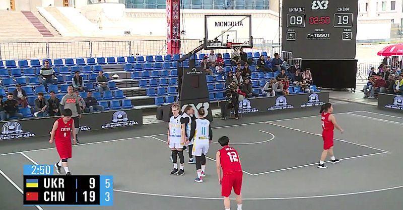 Жіноча збірна України U-18 вдруге поступилася на чемпіонаті світу 3х3