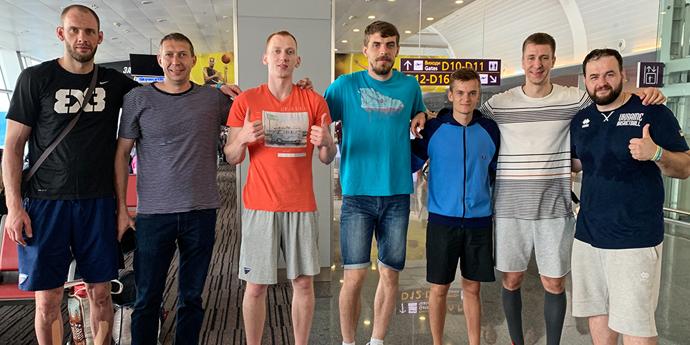 Збірна України з баскетболу 3х3 відправилася до Кіпру
