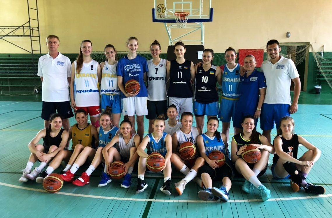 Визначився склад юнацької збірної на матчі у Білорусі