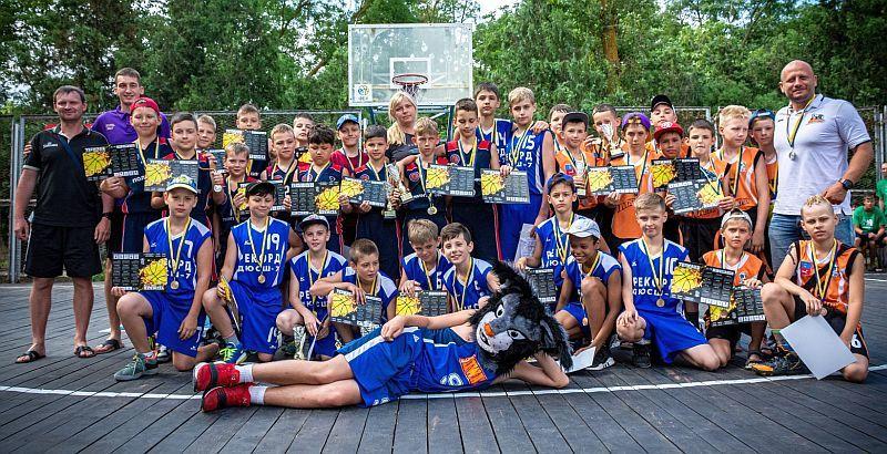 У Залізному Порту завершився Фестиваль мінібаскетболу