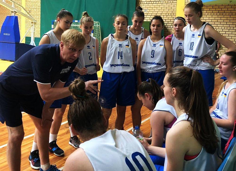 Жіноча збірна України U-18 поступилася у спарингу Білорусі