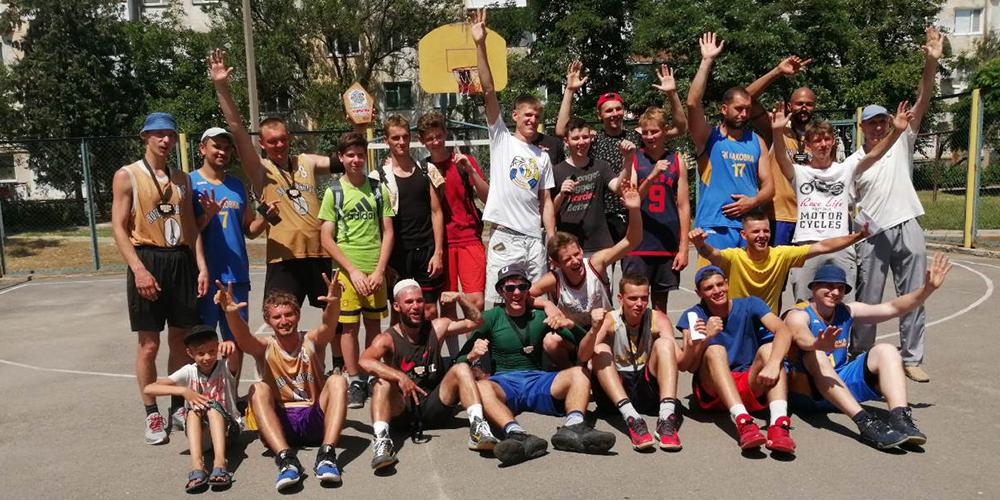 Турнір з баскетболу 3х3 відбувся у Каховці